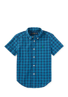 Ralph Lauren Childrenswear Madras Plaid Shirt Toddler Boys