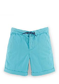 Ralph Lauren Childrenswear Cotton Canvas Short Toddler Boys