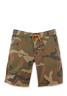 Ralph Lauren Childrenswear Camo Canvas Shorts Toddler Boys