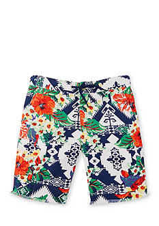 Ralph Lauren Childrenswear Floral Twill Shorts Toddler Boys