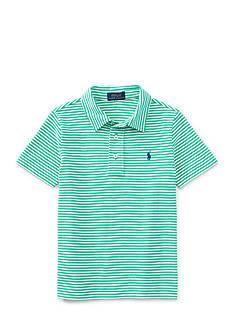 Ralph Lauren Childrenswear Stripe Polo Toddler Boys