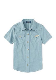Ralph Lauren Childrenswear Western Snap Front Shirt Toddler Boys