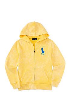 Ralph Lauren Childrenswear Zip Front Hoodie Toddler Boys