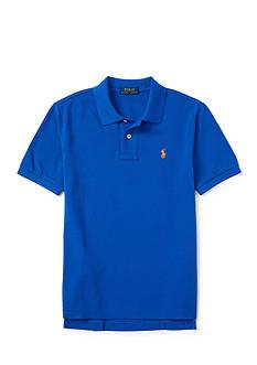 Ralph Lauren Childrenswear Basic Mesh Shirt Sleeve Toddler Boy