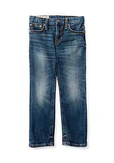 Ralph Lauren Childrenswear Denim Skinny Bottoms - Toddler Boy