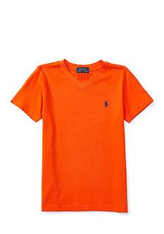 Ralph Lauren Childrenswear Jersey V-Neck T-Shirt - Toddler Boy