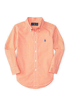 Ralph Lauren Childrenswear Poplin Shirt Toddler Boy