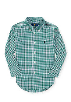 Ralph Lauren Childrenswear Poplin Shirt - Toddler Boy