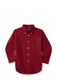 Ralph Lauren Childrenswear Buffalo Plaid Shirt Toddler Boy