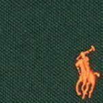 Ralph Lauren Boys: Forest Green Ralph Lauren Childrenswear Basic Mesh Polo - Toddler Boy