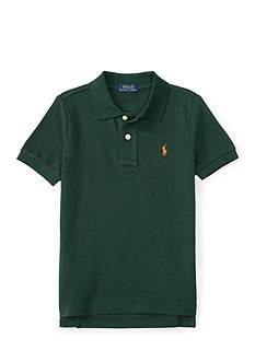 Ralph Lauren Childrenswear Basic Mesh Polo - Toddler Boy