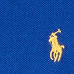 Ralph Lauren Boys: Blue Streak Ralph Lauren Childrenswear Cotton Mesh Long-Sleeve Polo Toddler Boys