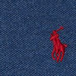 Ralph Lauren Boys: Navy Heather Ralph Lauren Childrenswear Cotton Mesh Long-Sleeve Polo Toddler Boys