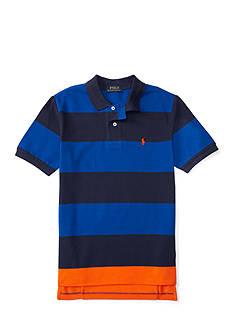 Ralph Lauren Childrenswear Mesh Stripe Polo - Toddler Boy