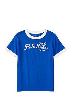 Ralph Lauren Childrenswear Jersey Ringer Tee Toddler Boy