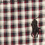 Toddler Boy Dress Shirts: Black/White Multi Ralph Lauren Childrenswear Poplin Long Sleeve Button Down Top Toddler Boys