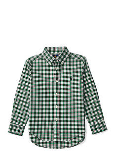 Ralph Lauren Childrenswear Cotton Twill Shirt Toddler Boys