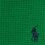 Ralph Lauren Boys: Parrot Green Ralph Lauren Childrenswear Long Sleeve Knit Top Toddler Boys