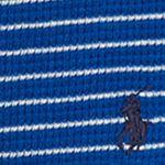 Ralph Lauren Boys: Sapphire Star Multi Ralph Lauren Childrenswear Waffle Knit Cotton Henley Top Toddler Boys