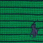 Ralph Lauren Boys: Parrot Green Multi Ralph Lauren Childrenswear Waffle Knit Cotton Henley Top Toddler Boys