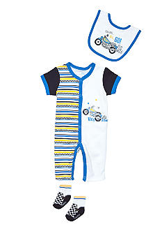 Nursery Rhyme Racing Coverall Set