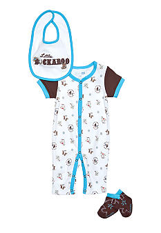 Nursery Rhyme Cowboy Coverall Set