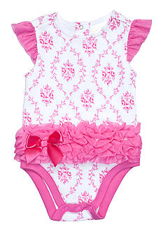 Nursery Rhyme Pink Print Creeper