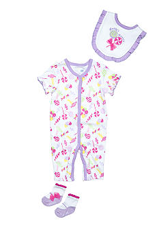 Nursery Rhyme Lollypop Coverall Set