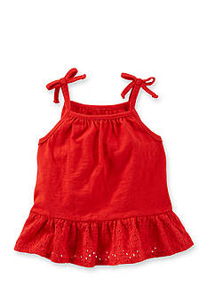OshKosh B'gosh Red Ruffle Tank