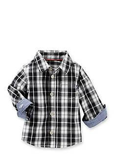 OshKosh B'gosh Plaid Button-Front Shirt