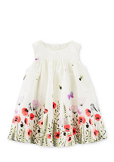 OshKosh B'gosh 2-Piece Floral Poplin Dress and Bloomer Set