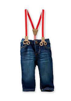 OshKosh B'gosh Suspender Dark Wash Jeans