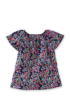 OshKosh B'gosh Floral Woven Top Toddler Girls