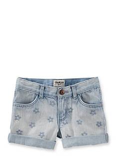 OshKosh B'gosh Denim Star Shorts Toddler Girls