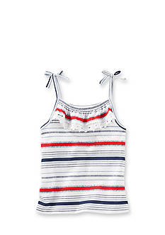 OshKosh B'gosh Ruffle Stripe Tank Top Toddler Girls