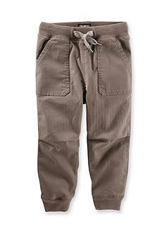 OshKosh B'gosh Twill Jogger Pants Toddler Boys