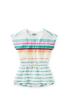 OshKosh B'gosh Striped High Low Tunic Top Toddler Girls