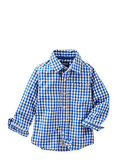 OshKosh B'gosh Mini Check Woven Shirt Toddler Boys