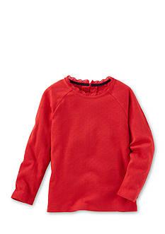 OshKosh B'gosh Long Sleeve Red Sparkle Top Toddler Girls