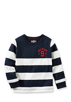 OshKosh B'gosh Rugby Stripe Tee Toddler Boys