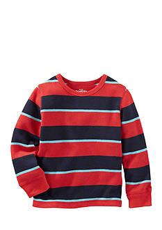 OshKosh B'gosh Long Sleeve Striped Thermal Toddler Boys