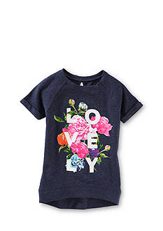 OshKosh B'Gosh 'Lovely' Floral High Low Tunic Top Toddler Girls