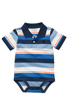 OshKosh B'gosh Stripe Polo Bodysuit