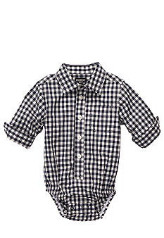 OshKosh B'gosh Gingham Oxford Bodysuit