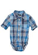 OshKosh B'gosh® Plaid Bodysuit