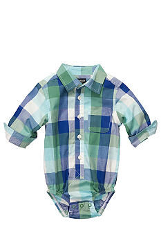 OshKosh B'gosh Plaid Oxford Bodysuit