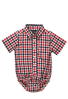 OshKosh B'gosh Plaid Gingham Bodysuit