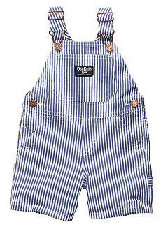 OshKosh B'gosh Striped Seersucker Shortalls