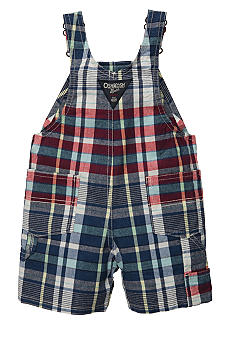OshKosh B'gosh Plaid Shortall