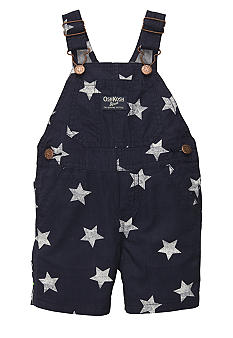 OshKosh B'gosh Star Print Overall Shorts